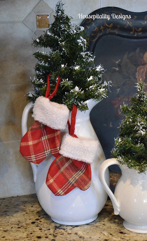 Ironstone/Christmas Trees/Mittens-Housepitality Designs