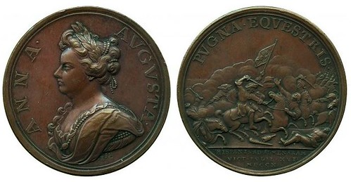 Medal Anne, Battle of Almenara, 1710