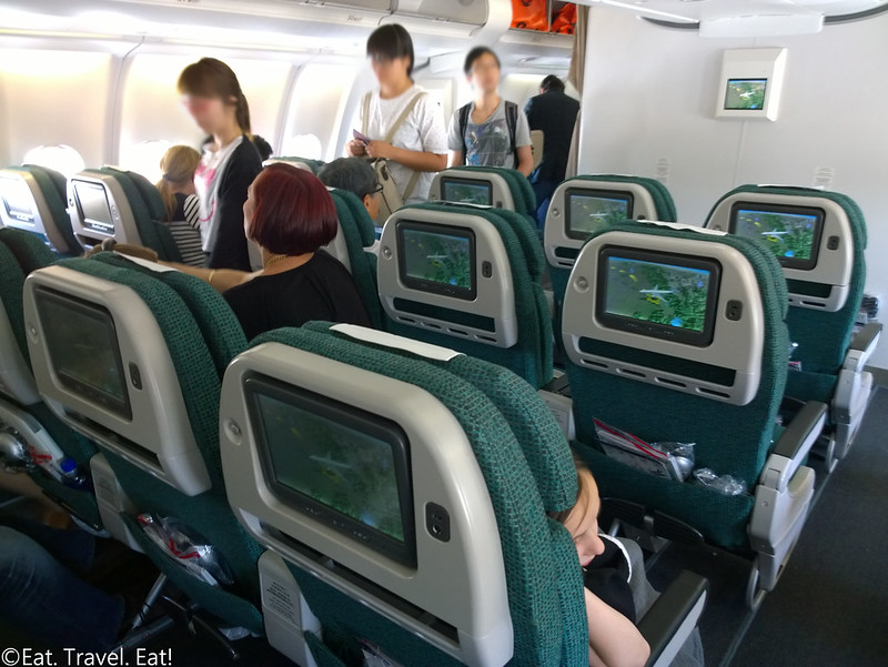 Cathay Pacific CX 391 (PEK- HKG)