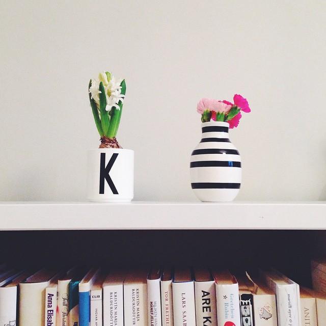 eit innslag av blomar gjer godt når ein sit og skriv.🌷