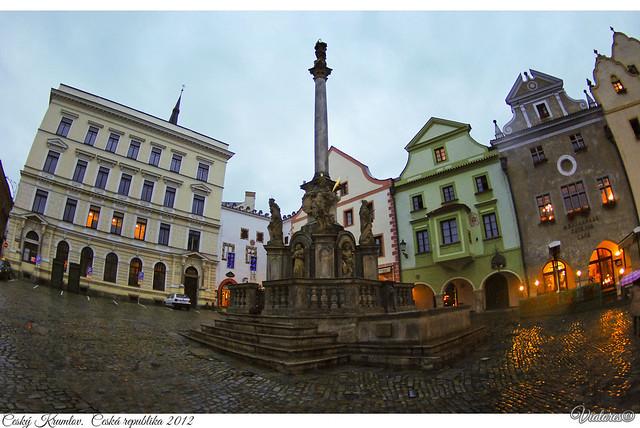 Český Krumlov. Česká republika.