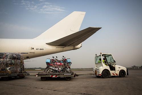 airplane airport motorbike unitednations motorcycle ebolaresponse unmeer unitednationsmissionforebolaemergencyresponse photomartineperret