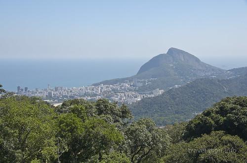 【写真】世界一周 : リオ・デ・ジャネイロ・市街地(コルコバードに向かう途中)