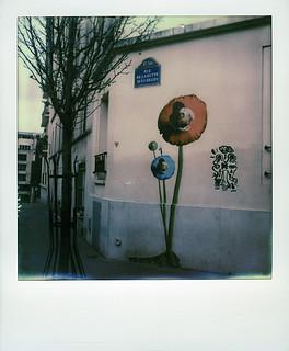 Lyon Big-ben at Butte aux Cailles (Paris 13)