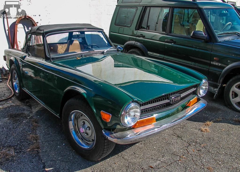 1970 Triumph TR6 | At a foreign car repair shop in South Sal