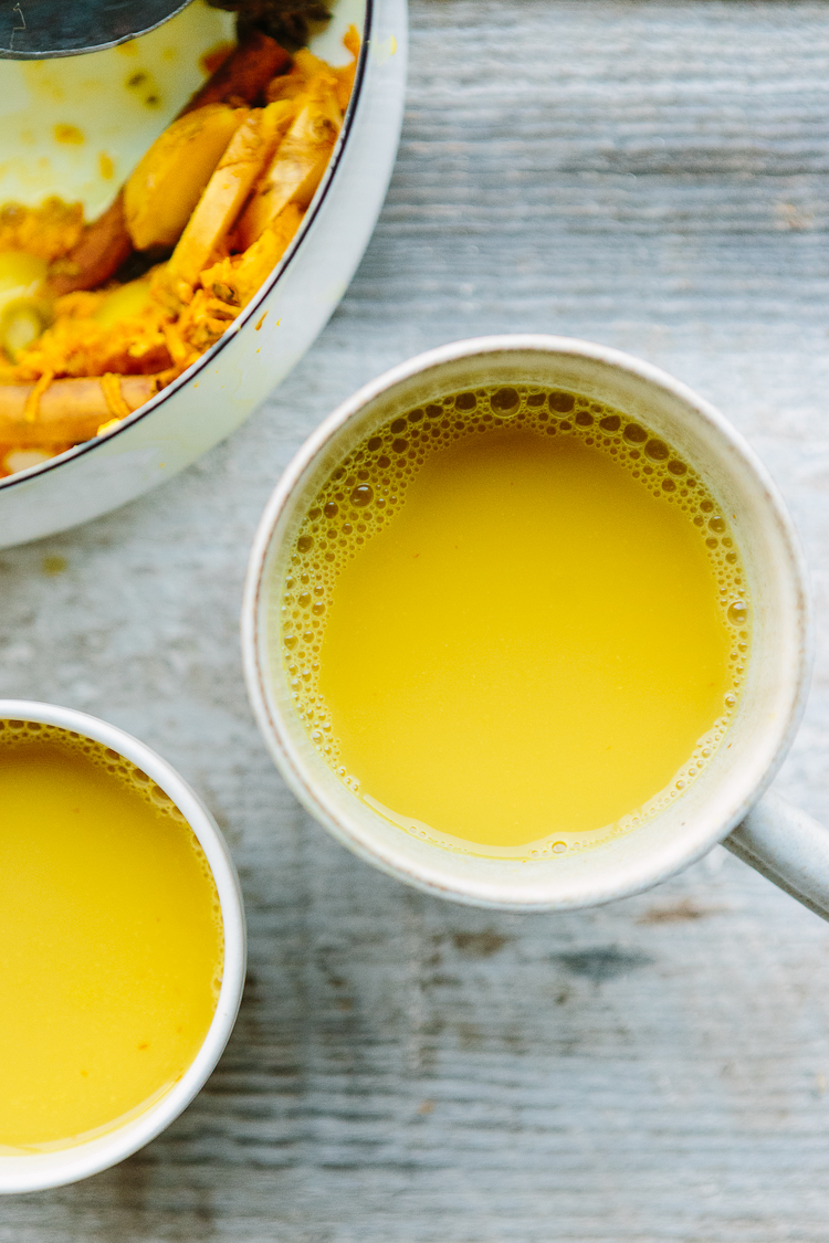 Turmeric Chai // the year in food