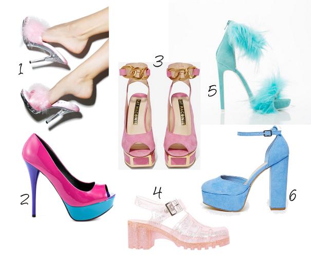 90s platform heels