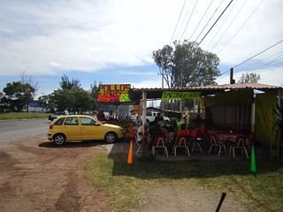 Awesome Chicken Asado (BBQ) near the Guadalajara Airport, Mexico.
