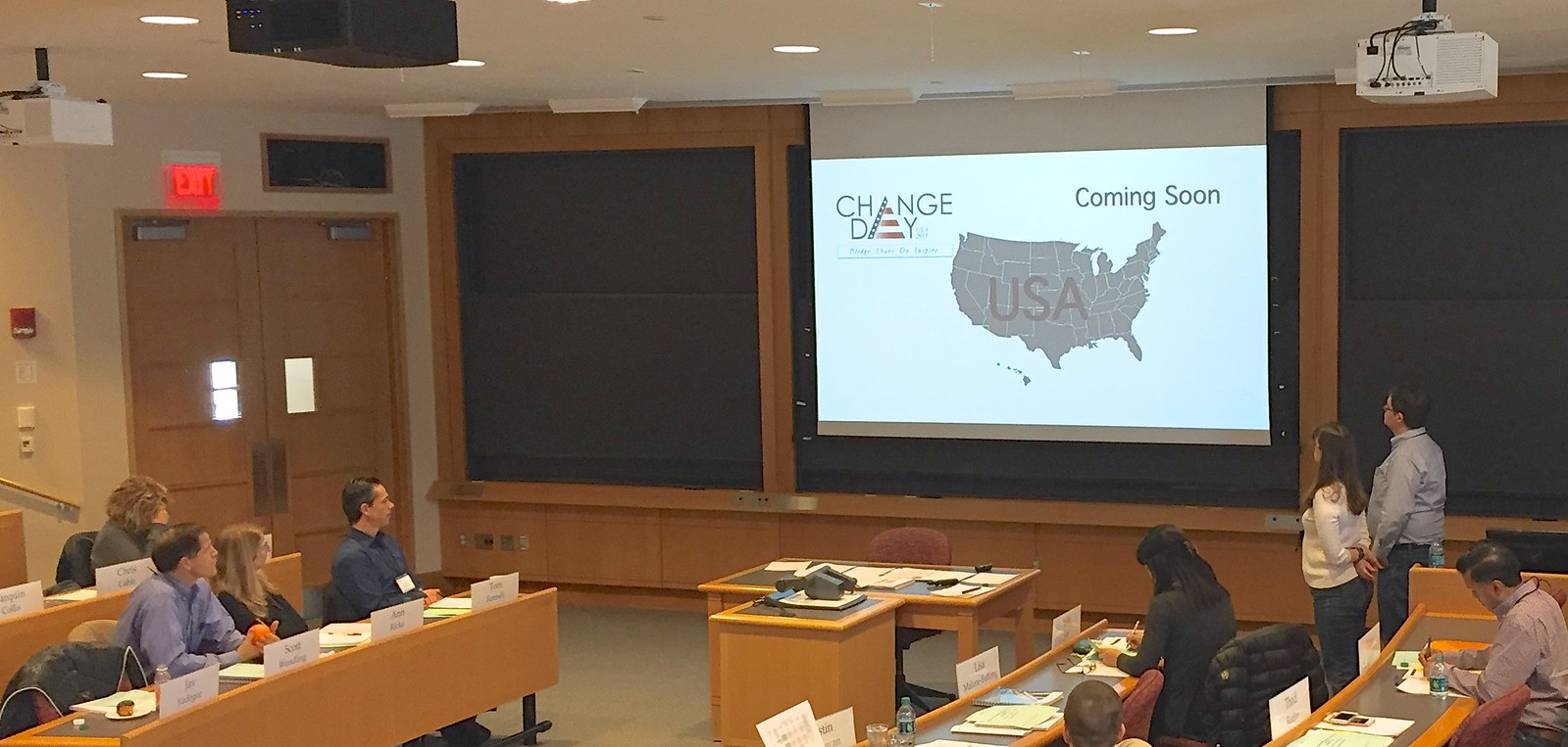 USAChangeDay at Harvard Business School Executive Education - Kaiser Permanente 52526