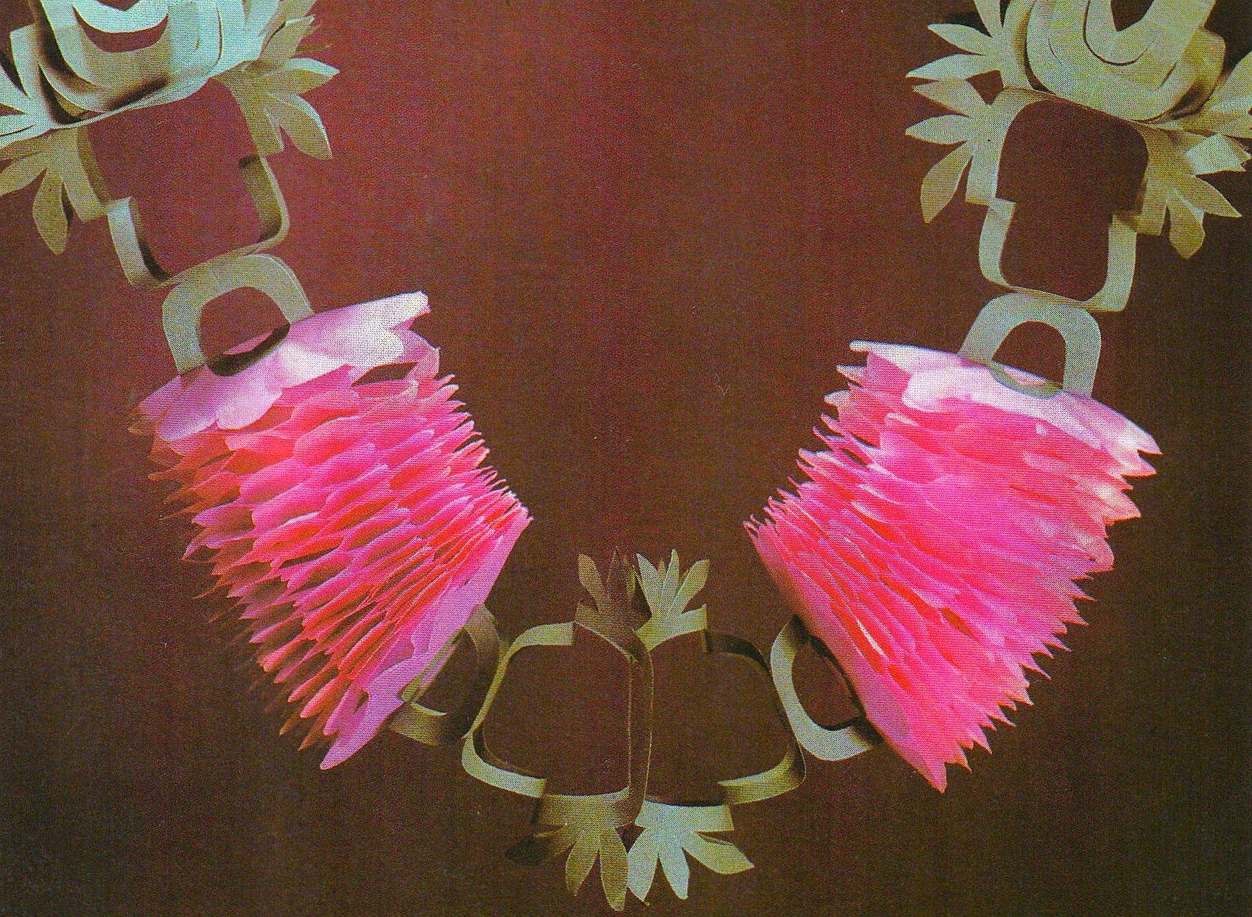 vintage party paper chains