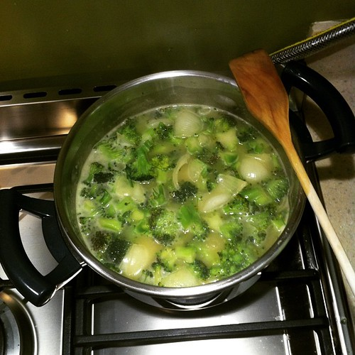 Bugün günlerden #brokoliçorbası :) #yaseminmutfakta