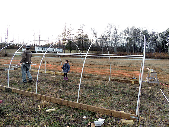 12'x30' DIY PVC Greenhouse For $360 | Lady Lee's Home