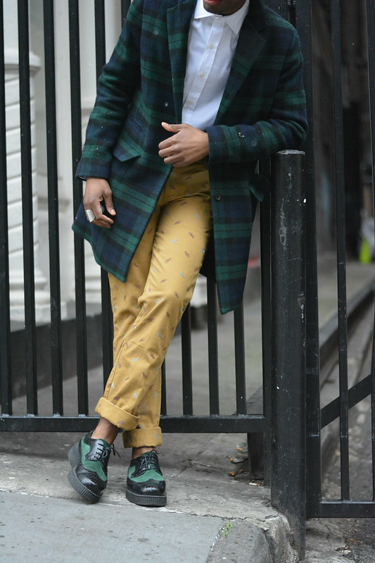 Plaid Over Coat - Style Society Guy