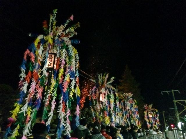 一之瀬高橋の春駒 : 2015/01/11