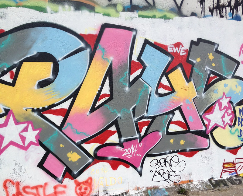 West Side of East Side Gallery