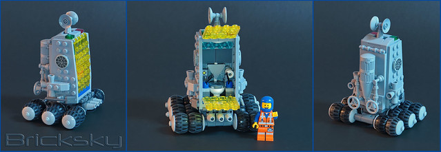 Lunar Maintenance Worksite Bio-Break Rover