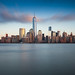 Manhattan from Jersey City's Exchange Place by Rich Williams ©™