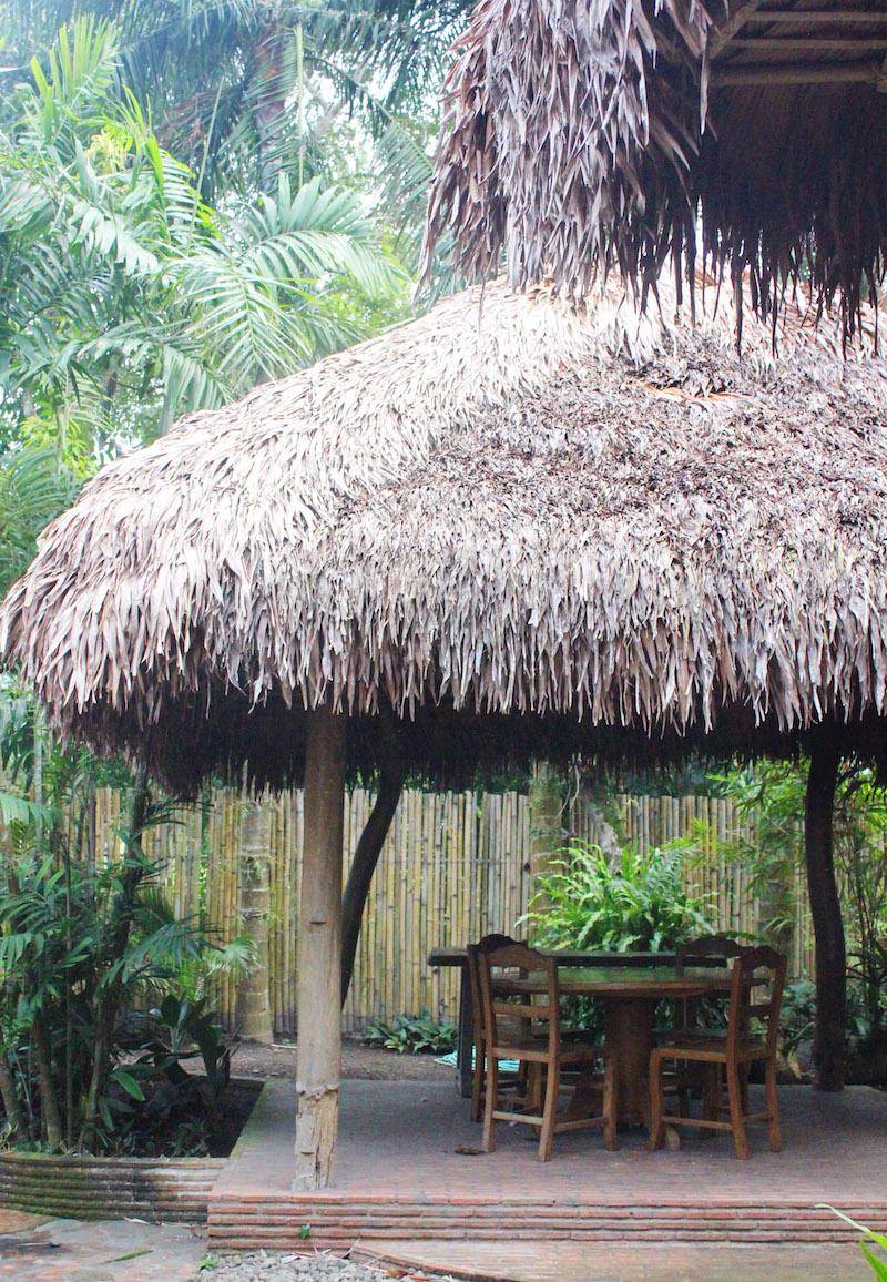 Ugu Bigyan Potter's Garden cogon pavilion