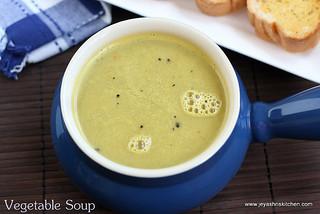 oats veg soup