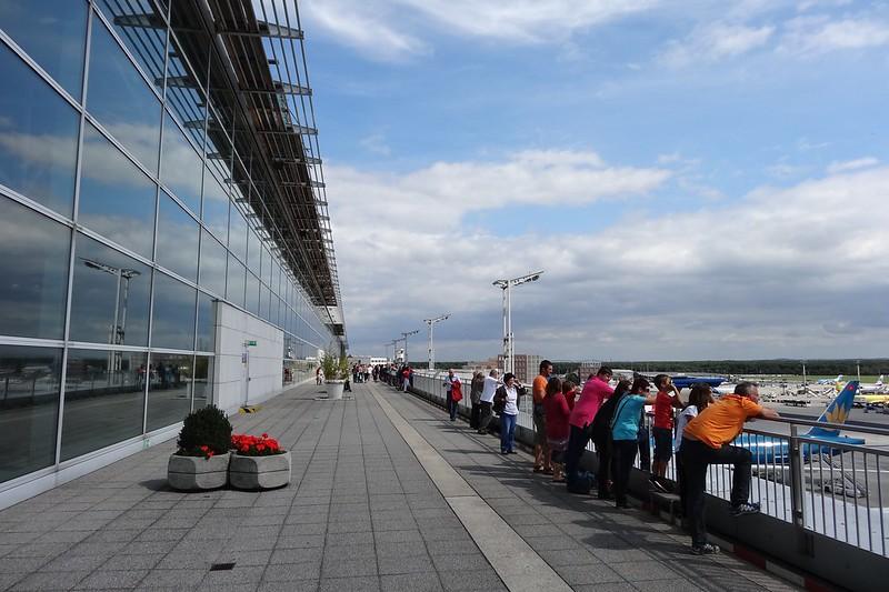 Besucherterrasse - Terminal 2 FRA AIRPORT