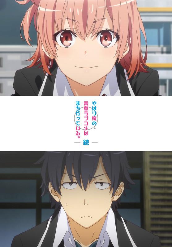 150129 -「戸松遥×佐倉綾音」加入團隊的新動畫《果然我的青春戀愛喜劇搞錯了。續》公開第一支預告!