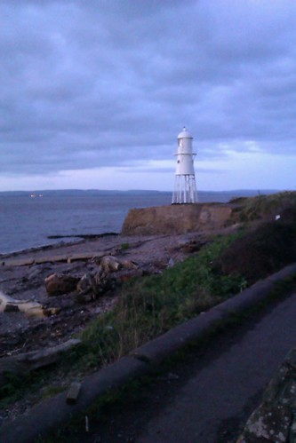 Portishead's Black Nore lighthouse