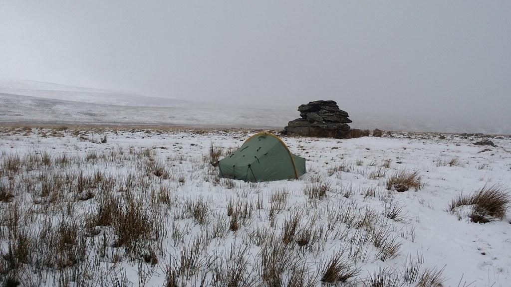 Camp on Wild Tor #sh