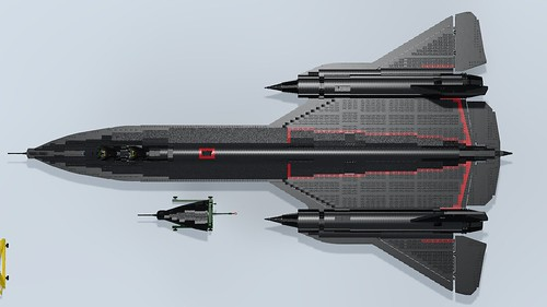 SR-71A Blackbird top