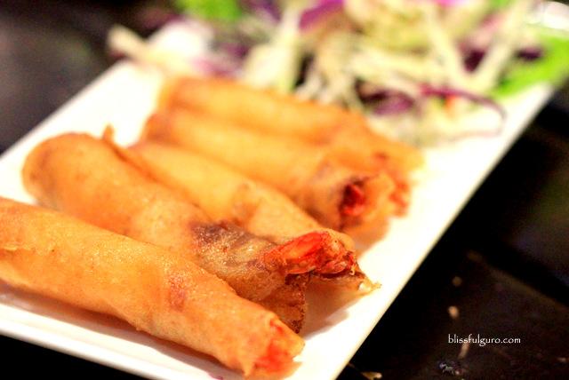 Shrimp Spring Rolls Bangkok