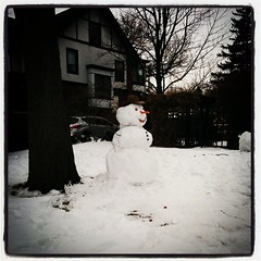 #perfectsnowman #victoriaavenue #windsorON