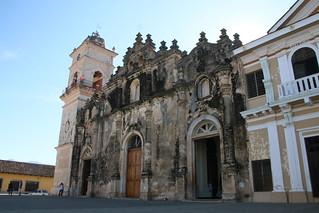 Church La Merced.  Granada, Nicaragua.
