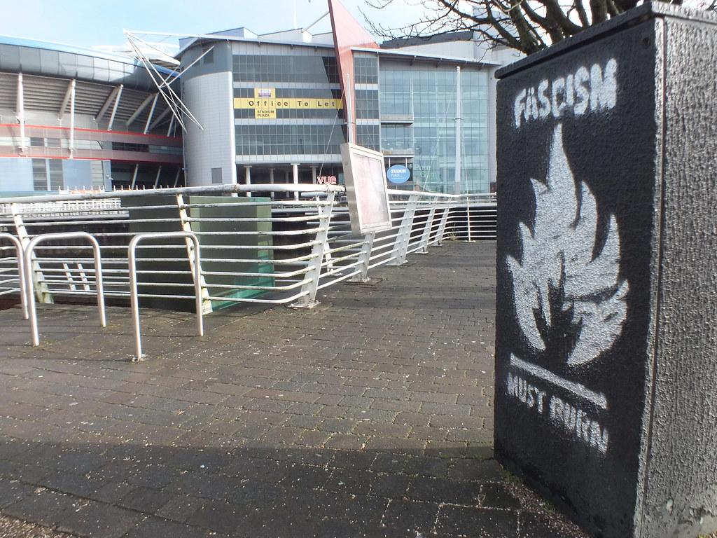 Street art and graffiti in Cardiff