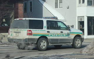 VHPD Ford Expedition Car 3 (Old Markings)