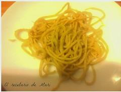spaguetis pasta fresca