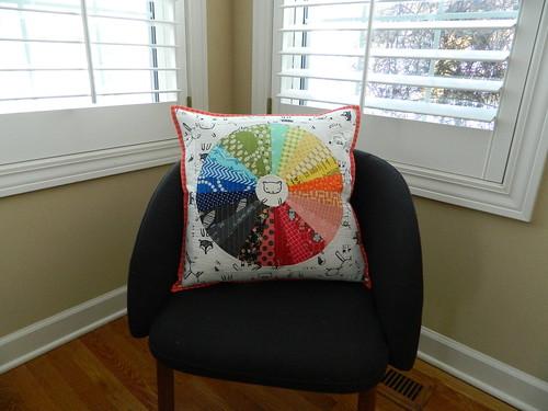 the motley wheel pillow