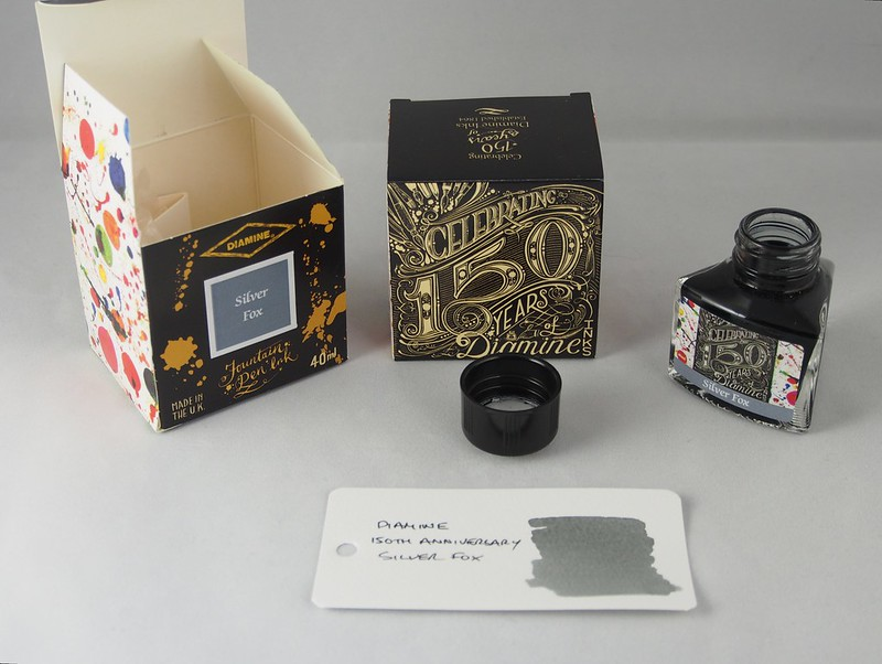 Diamine 150th Anniversary Silver Fox
