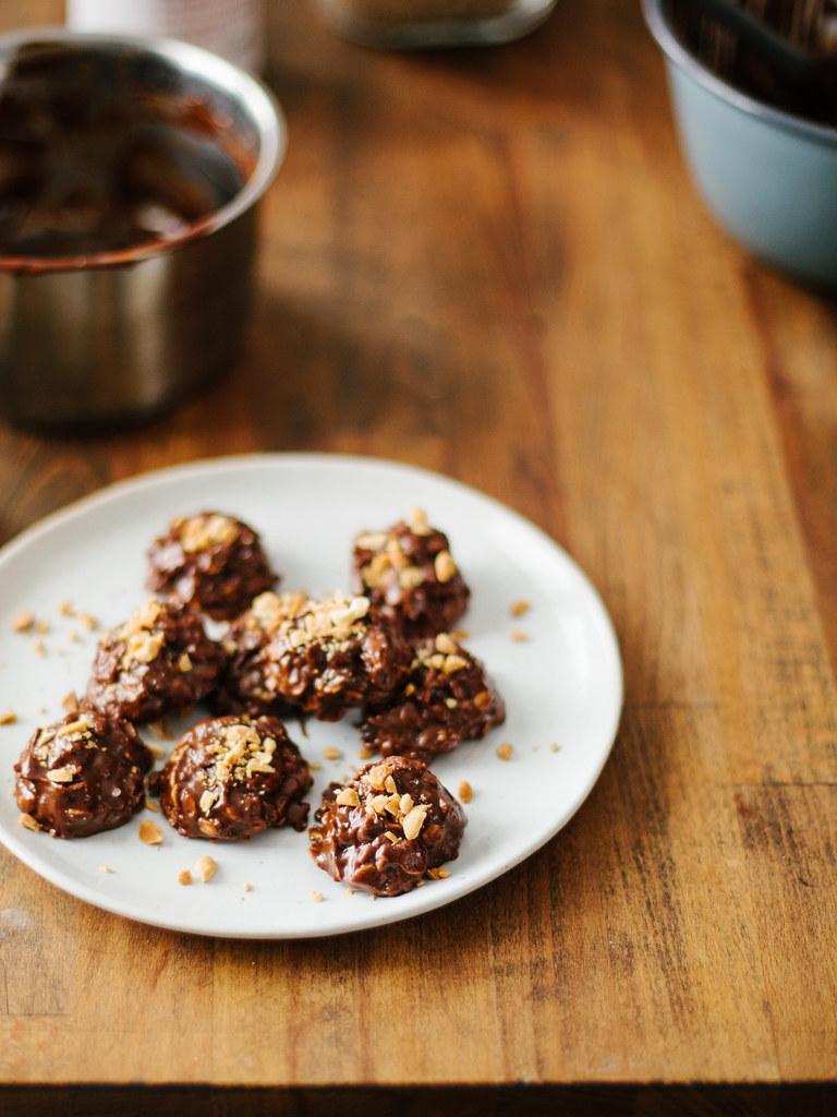 Easy no-bake cookies