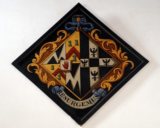 Hatchment, St Mary`s Breamore Hants