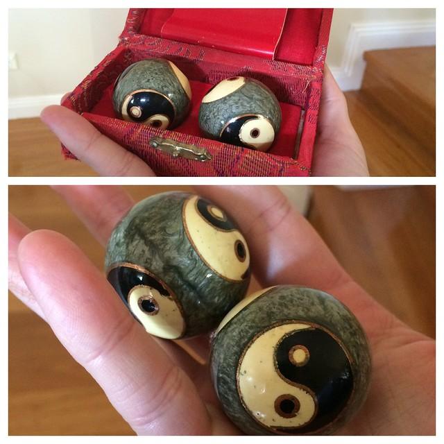 Meditation balls