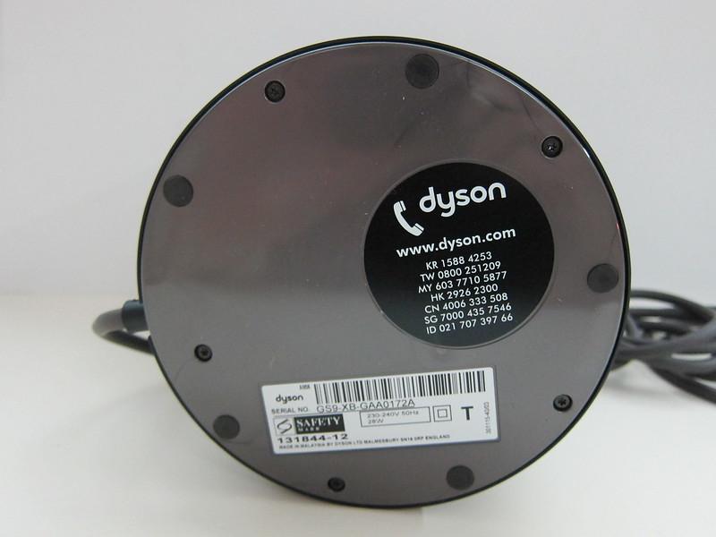 Dyson AM06 Desk Fan 25cm (Iron & Blue) - Base Bottom