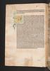 Water damaged illuminated initial in Petrarca, Francesco: Canzoniere