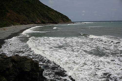 阿朗壹海岸。攝影:朱雲瑋