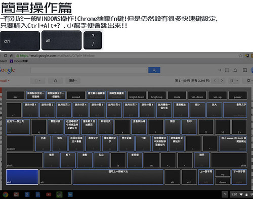 Chromebook 鍵盤小幫手