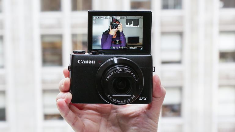 Canon G7 X - Cámaras Youtubers