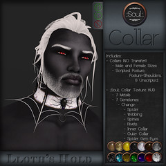 .:Soul:. Collar - Lloth's Hold