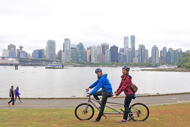 Vancouver Stanley Park Bike