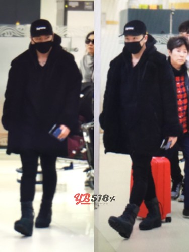BIGBANG (wout Seungri) arrival Seoul Gimpo from Beijing 2016-01-02 (44)