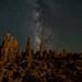 Tufa and Milky Way by Laura Y Lin