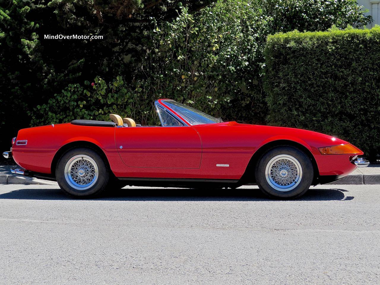 Ferrari 365 GTS:4 Profile