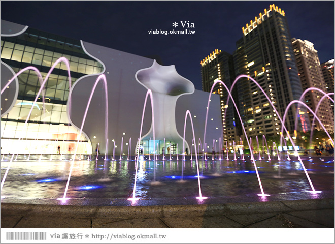 【大都會歌劇院】台中國家歌劇院~夜間水舞篇。光舞紀/光影藝術節12